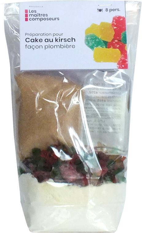 Cake Au Kirsch Facon Plombiere