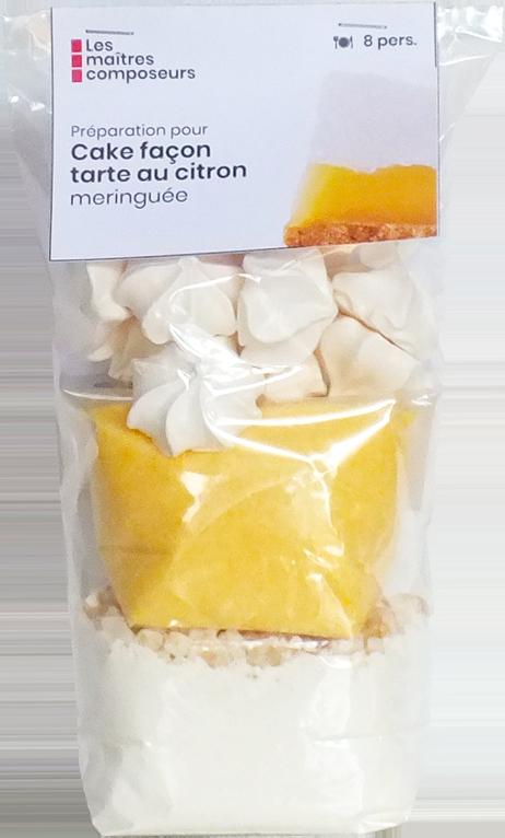 Cake Facon Tarte Au Citron