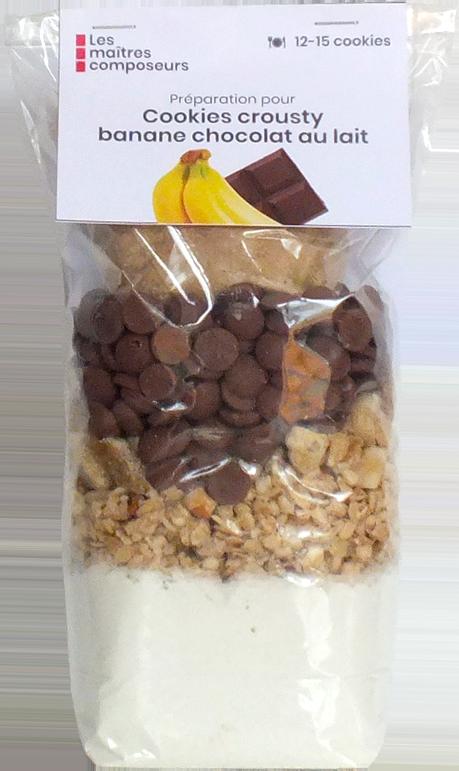 Cookies Crousty Banane Chocolat
