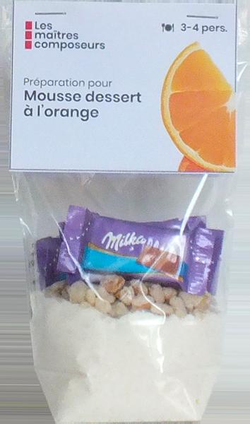 Mousse Dessety Orange