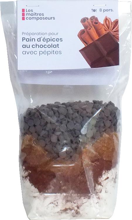 Pain Epices Chocolat
