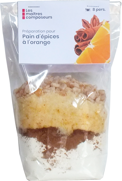 Pain Epices Orange