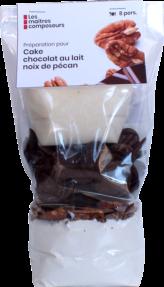 Cake Choco Lait Pecan
