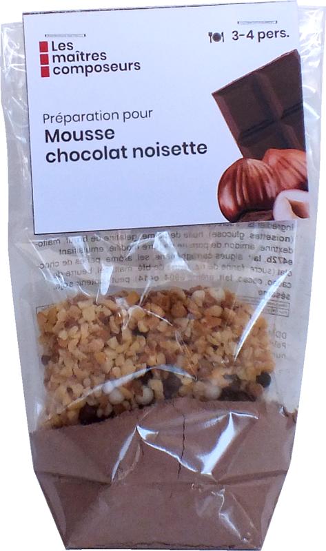 Mousse Chocolat Noisette