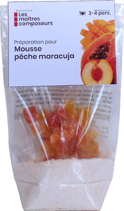 Mousse Peche Maracuja