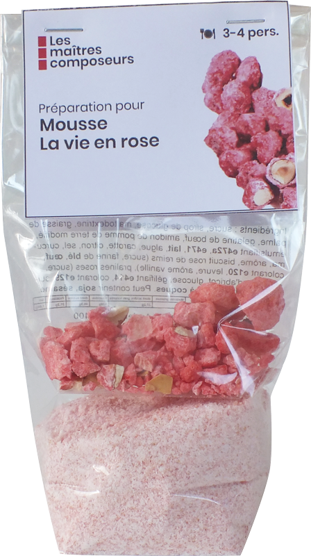 Mousse Vie En Rose