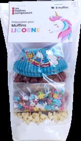 Muffins Licorne